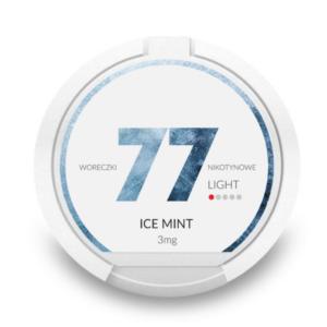 77 Ice Mint 3mg Nuuska