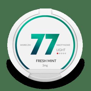 77 Nikotiinipussi Fresh Mint 3mg