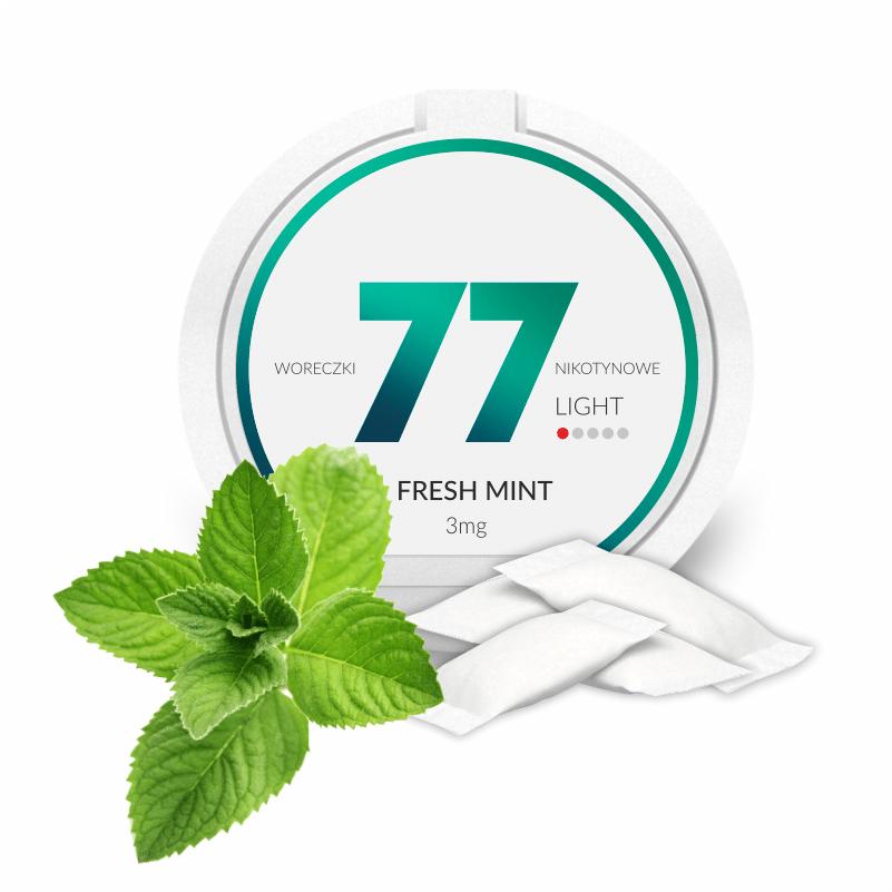 77 Fresh 3mg nikotiinipussi