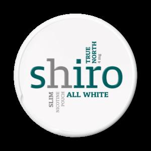 Shiro True North 4mg valkoinen nuuska