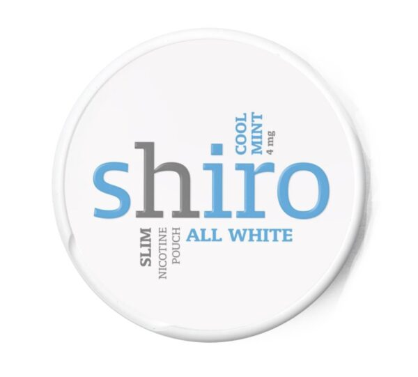 Shiro Cool Mint nikotiinipussi