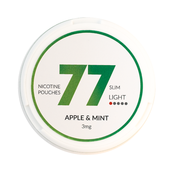 77 apple & mint 3mg nikotiinipussi