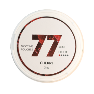 77 pouches Cherry 3mg