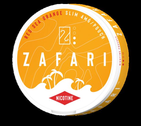 Zafari Red Sea Orange nikotiininuuska