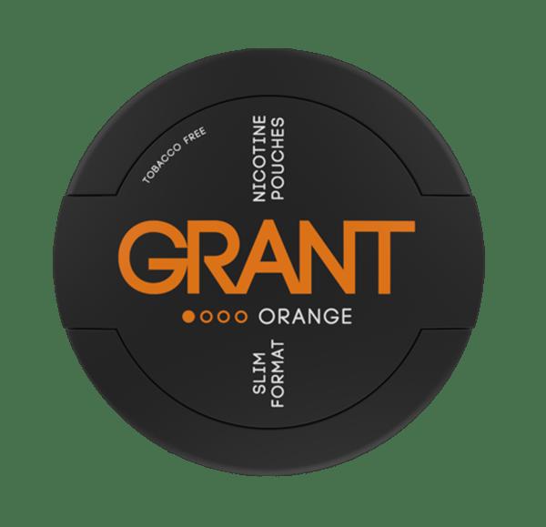 Grant Nikotiinipussi Orange 4mg