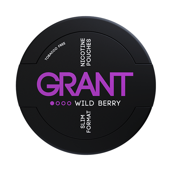 Grant Nikotiinipussi Wild Berry 4mg