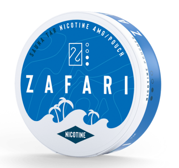 Zafari nikotiinipussi Sauna Tar